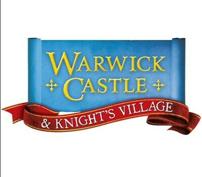 2 Warwick Castle Tickets Sunday July 21st Will Send By Email
