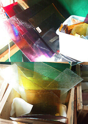 Stained Glass Workshop Contents : glass - tools - soldering irons - lead - books