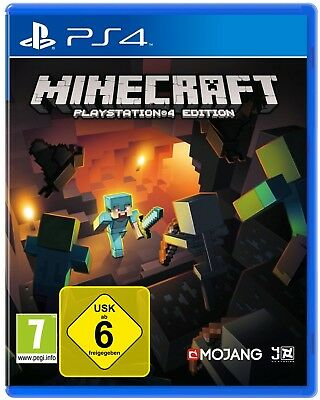 Minecraft: PlayStation 4 Edition (PS 4) *** NEU & OVP in Folie ***