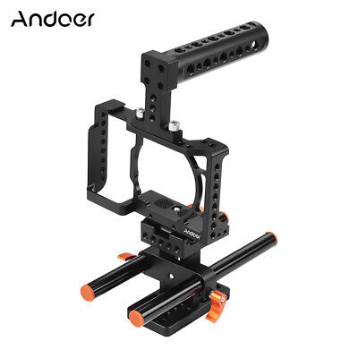 Andoer Camera Cage Top Handle Stabilizer For Sony A6500/6400/6300/6000 A1N3