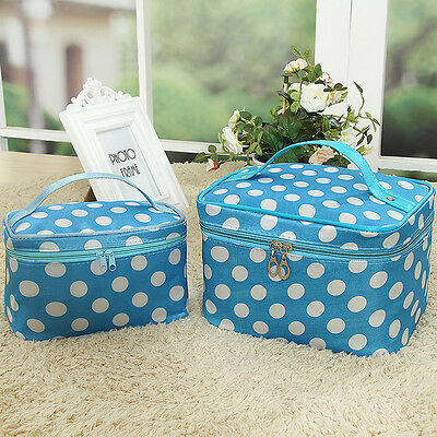 Women Multi-function Storage Bag Cosmetic Pouch Make up Toiletry Case Organizer