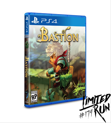 Bastion PS4 Playstation 4 Limited Run Games #174 LRG Brand New Sealed Sold Out!