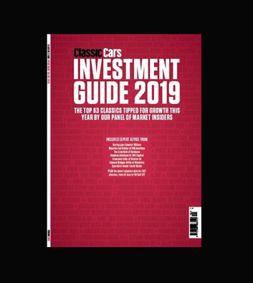 Classic Cars Investment Guide 2019 Magazine