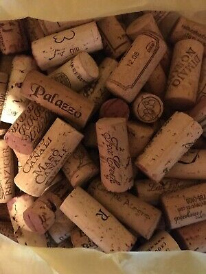 375 Used Wine Corks No Plastic/Champagne Great for Crafts