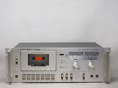 Vintage FISHER CR-7000 Cassette Deck Has Issues, Please Read! Free Shipping!