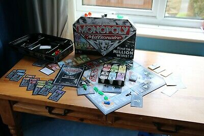 Monopoly Millionaire board game - Hasbro [age 8+; 2-4 players]