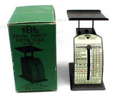 Vintage IDL Deluxe Thrifty Postal Scale