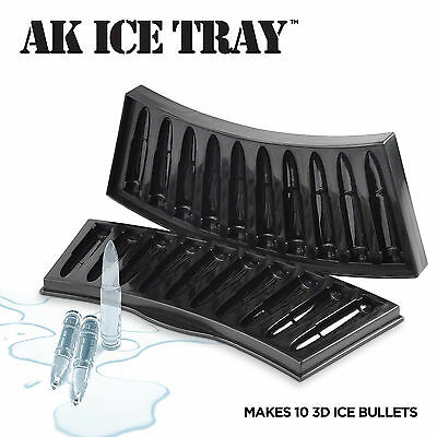 Bullets Shaped Novelty AK Ice Cube Tray | Fun Gift Idea | For that Killer Drink
