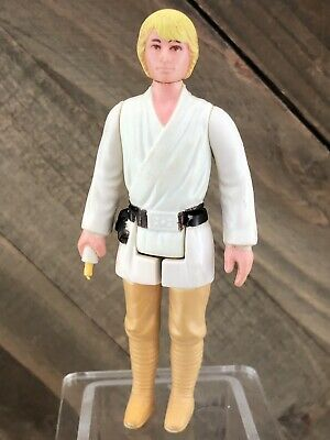 Vintage Star Wars Farmboy Luke Skywalker Kenner Action Figure 1977 ANH Original