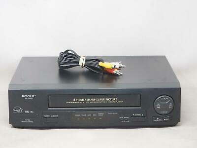 SHARP VC-A410U VCR VHS Player/Recorder Works Great! Free Shipping!