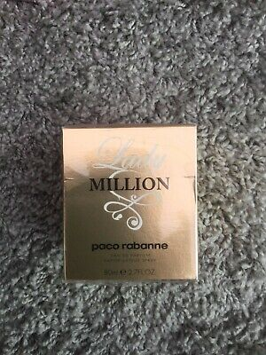 Paco Rabanne Lady Million EDP 80ml Spray for Her Brand New Eau De Parfum
