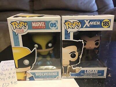 Funko POP Marvel Wolverine And Logan X Men