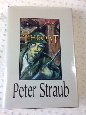 Signed Edition 1993 The Throat by Peter Straub 279 of 350 w/Dust Jacket Slip Cas