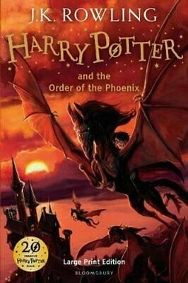Harry Potter and the Order of the Phoenix by J. K. Rowling 9780747569602