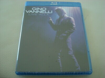 GINO VANNELLI Live in L.A. NEW Blu-Ray Black Cars Wild Horses (2015) The Saban