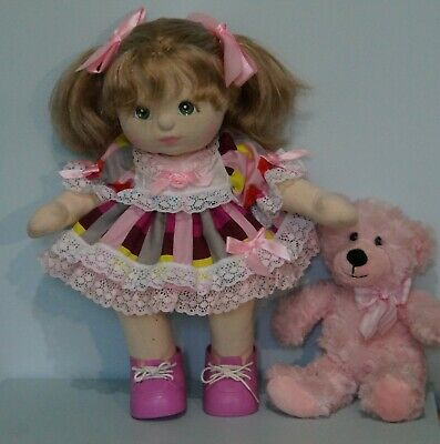 My Child Doll Lace 'N' Bows Dress - Panties - Ribbons No Doll