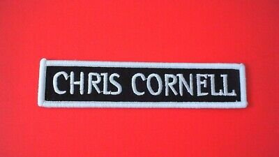 Chris Cornell Iron On Patch! New Soundgarden Audioslave Grunge Alice in Chains