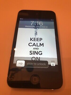 Apple iPod touch 4th Generation Black (32 GB) Model A1367