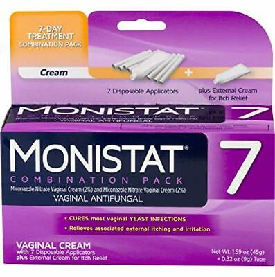 Monistat 7 Day Yeast Infection Treatment Cream External Itch Relief Cream