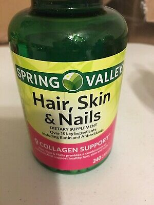 Hair Skin Nails Supplement With Rich Vitamin C B6 E By