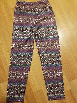 Charlie Project Leggings Girls Kids Size S/M