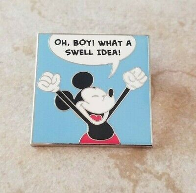 Pin Trading Disney Pins Mickey Mouse from Comic Set Oh Boy What a Swell Idea