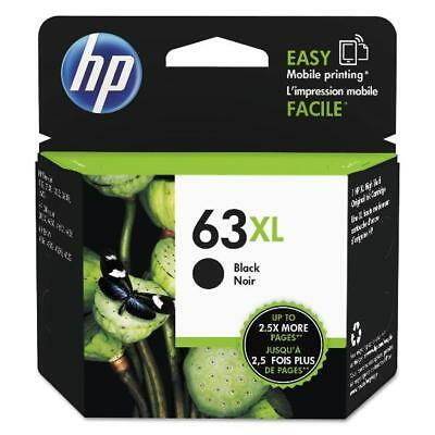 HP 63XL (F6U64AN) Black High Yield Ink Cartridge