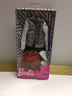 Mattel Barbie KEN DOLL CLOTHING OUTFIT LOT New Shirt Shorts Shoes Fashionistas