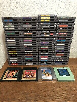 93 Nintendo NES Game Lot - Mario, Double Dragon, TMNT, Pinball