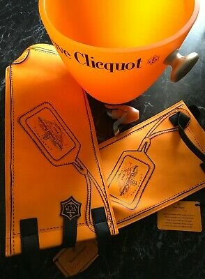 Veuve Clicquot Champagne - ice bucket, cooler bag & stopper