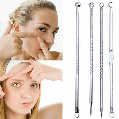 4X Blackhead Remover Cleaner Tool Acne Blemish Needle Spot Extract s Pimple X8X9