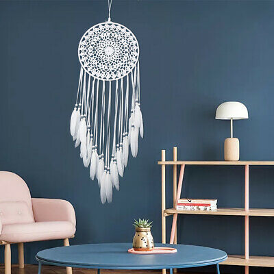 Large Dream Catcher Handmade Feathers Native American Car/Home Decoration Gift
