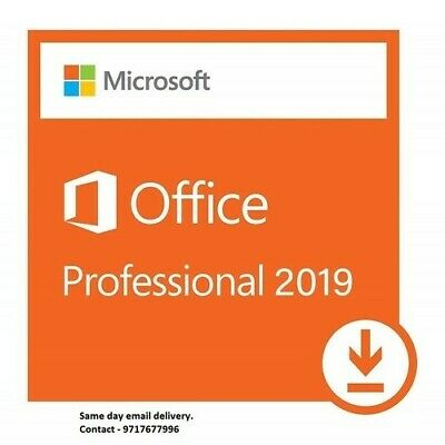 Microsoft office pro plus 2019 Lifetime License