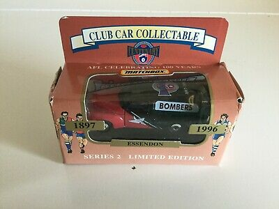 Car Club Collectable - Series 2 - Limited Edition - Essendon Bombers FJ Holden