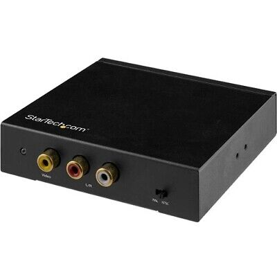 Startech HDMI to RCA Converter Box with Audio - Composite Video Adapter - NTSC/P