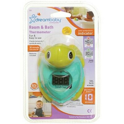Dreambaby Room & Bath Turtle Thermometer