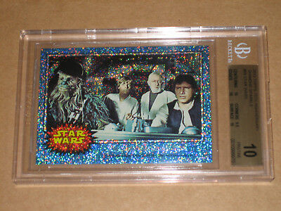 Bgs 10 Star Wars 2013 Topps 75Th Anniversary Diamond Sparkle 16/75 Card 69 1977