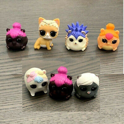 LOT 7 LOL SURPRISE PETS Spicy Troublemaker HEDGEHOG EYE SPY Authentic toy dolls