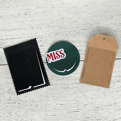 Flip Tags Metal Cutting Dies For DIY Scrapbooking Album Paper Cards.,
