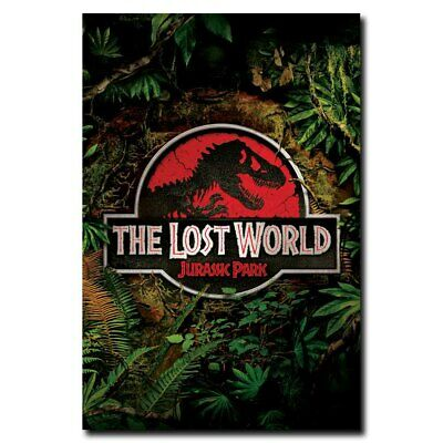 The Lost World Jurassic Park 24x16inch Classic Movie Silk Poster Room Door Decal