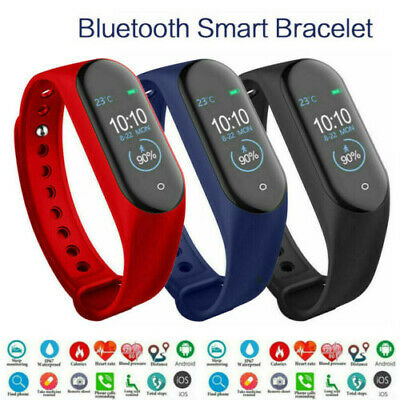CA Smart Watch iOS Android Blood Pressure Heart Rate Monitoring Sports Bracelet