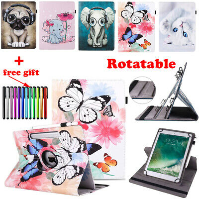 For iPad 2 3 4 5th 6th 9.7 Multiple Angles Stand Rotating Case Protective Cover