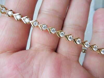 Nice, Antique Bracelet__925 Silver Gold Plated__with Sanded