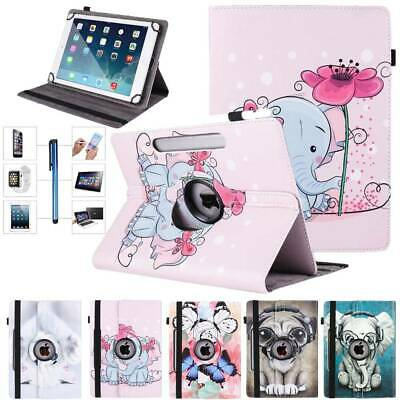 360 Degree Rotate Pattern Protective Cover Case For iPad 2 3 4 Air Pro 9.7 10.5