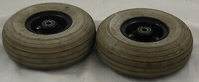 Pride Celebrity DX Mobility Scooter Pair of Rear Wheels Tyres (300-4) + Tubes