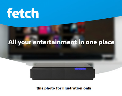 (Low $49 Start) - Fetch Tv Set Top Box - With Hdmi Tv Out - (Not Locked Set Box)