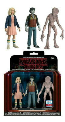 Stranger Things - Eleven, Will & Demogorgon NYCC 2017 Action Figure 3-pack