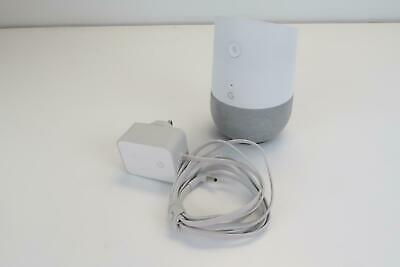 Google - Home - Model: H0ME - White - With Adapter