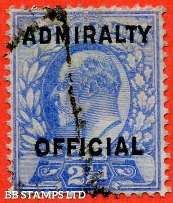 SG. 0111. MO40. 2½d Ultramarine Admiralty official Type II. A good used  B41675