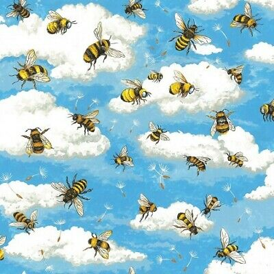 Nutex Patchwork Fabric - Bee Heaven - 89810